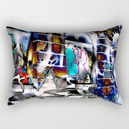 Bowery Graffiti Rectangular Pillow