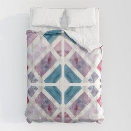 Geometric Jewel Watercolour Comforters