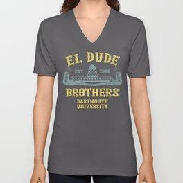 Peep Show - El Dude Brothers Unisex V-Neck