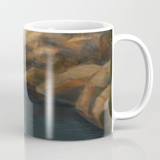 In his Boat Mug