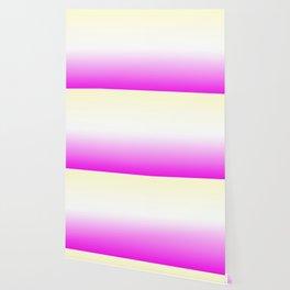 Pink White Yellow Gradient Wallpaper