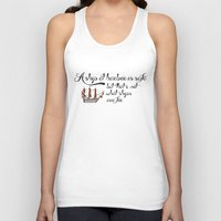 ships Tank Tops featuring ships by quotique