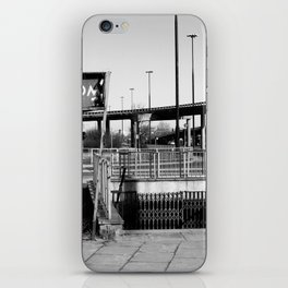 deep down the soul of the city of warsaw, poland iPhone Skin
