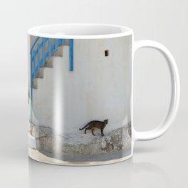Greek Village 2 - Milos - Landscape and Rural Art Photography Coffee Mug