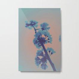 Hypereal Sunrise Florals (4) Metal Print