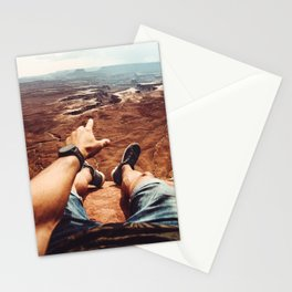on top of canyonalnds Stationery Cards
