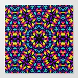 Kaleidoscope Psychedelic Dream Canvas Print