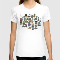 succulent T-shirts featuring Succulent Party by alliedrawsthings