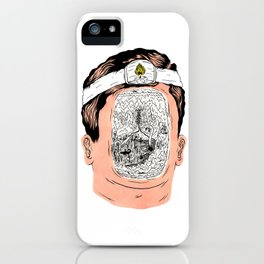 Journey to the center of the earth iPhone Case