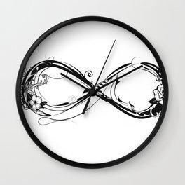A symbol of infinity Wall Clock