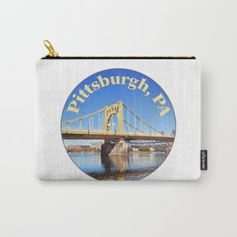 Roberto Clemente Bridge in Pittsburgh PA Carry-All Pouch