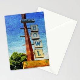 Century Bowl - Merced, CA Stationery Cards