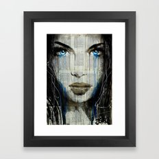 BLUE COAST Framed Art Print