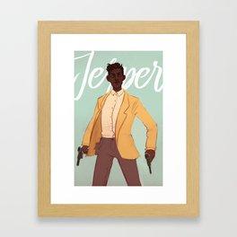 Jesper Framed Art Print