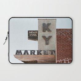 Vintage Neon Sign - KY Market - Tucson Arizona Laptop Sleeve