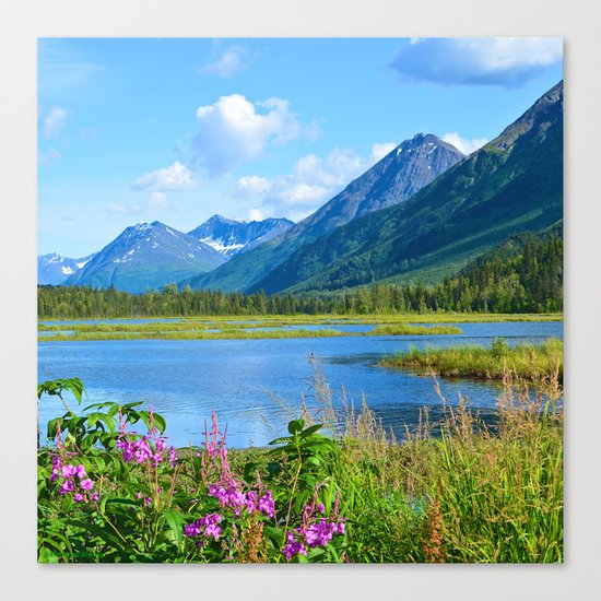 God's Country - II Canvas Print