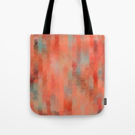 Coral Mirage Tote Bag