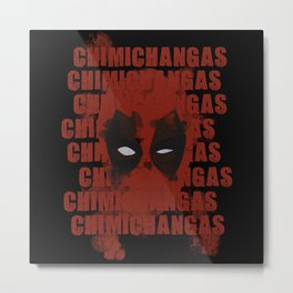 Chimichangas! Metal Print