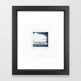Lagoon Photograph Framed Art Print