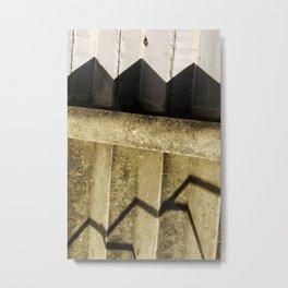 Shadow in Hackney1 Metal Print