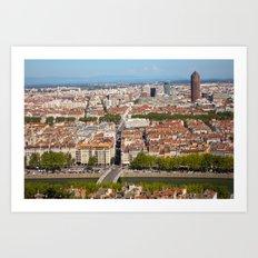 LYON-FRANCE  Art Print
