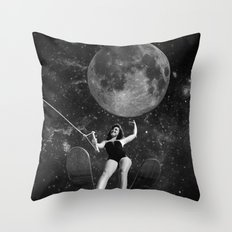 Black & White Collection -- Out There Throw Pillow