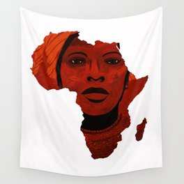 Mother Africa 2 Wall Tapestry