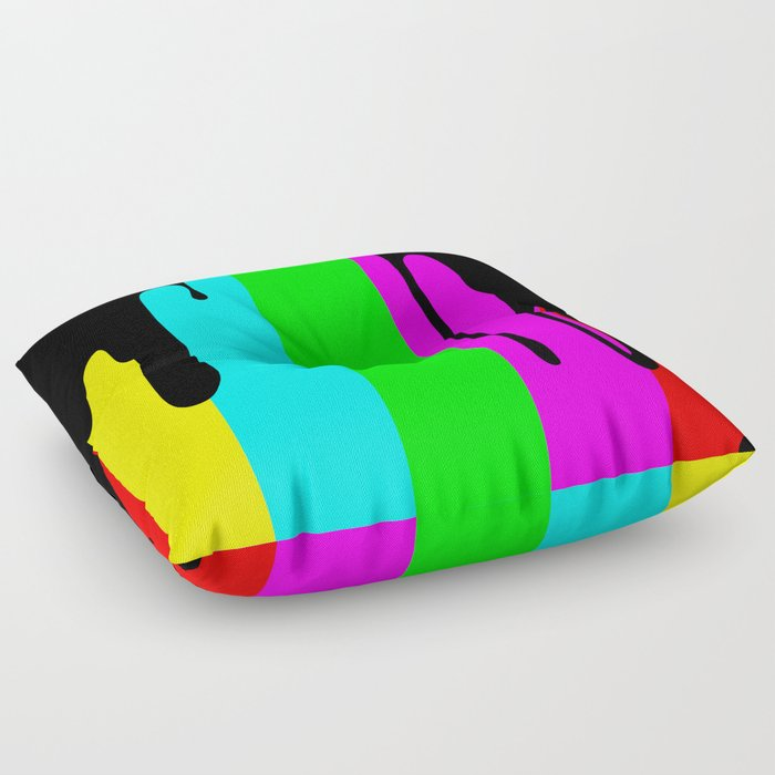 Black Out Floor Pillow