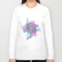 holographic Long Sleeve T-shirts featuring Colour Me by Belinda O'Connell