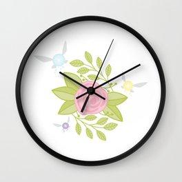 Garden of Fairies Wall Clock