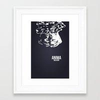 final fantasy Framed Art Prints featuring Final Fantasy X - Anima by booj