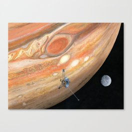 Interplanetary Pioneer Canvas Print