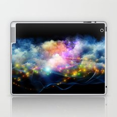 Space Clouds Laptop & iPad Skin