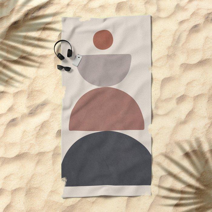 Balancing Elements III Beach Towel