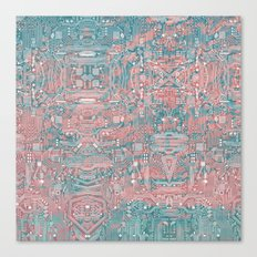 Circuitry Details 2 Canvas Print