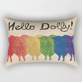 Hello Dolly! Rectangular Pillow