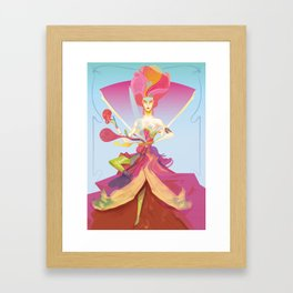 Madame W 3.0 Framed Art Print