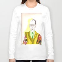 clown Long Sleeve T-shirts featuring clown by Leah Thornton