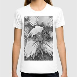 AnimalArtBW_Eagle_20170603_by_JAMColorsSpecial T-shirt