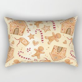 Smell of Gingerbread Rectangular Pillow