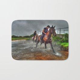 Water Horses  Bath Mat