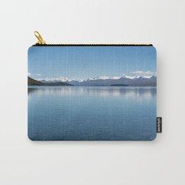 Blue line landscape Carry-All Pouch