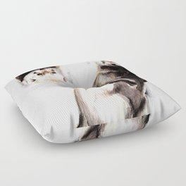 Steppen ferret (Mustela eversmanii) Floor Pillow