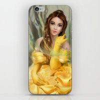 belle iPhone & iPod Skins featuring Belle by MartaDeWinter