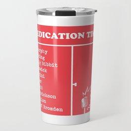 Medication Time Travel Mug