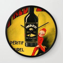Fred Zizi Wall Clock