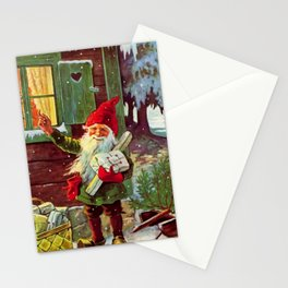 """""""The Presents Have Arrived"""" by Jenny Nystrom Stationery Cards"""