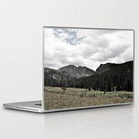 twin peaks Laptop & iPad Skins featuring Twin Peaks by bearbon