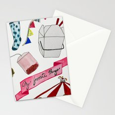 my favorite things Stationery Cards