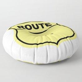 US Route 150 Floor Pillow